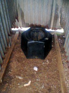 Potentially hazardous toilet